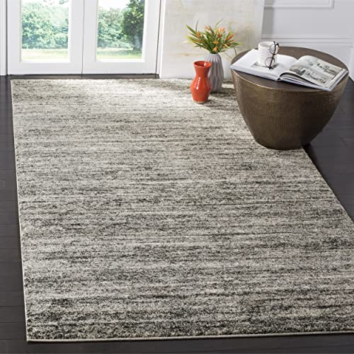 Safavieh Retro Collection RET2133-1180 Ivory and Grey Area Rug 8 x 10