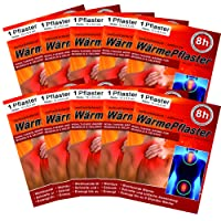 Wärmepflaster für Rücken Schulter Nacken Bauch - Wärmekissen Wärmespender Wärmepads Pflaster 8h, Wellnesprodukt für Massage & Entspannung 10 Stück Wärmepflaster