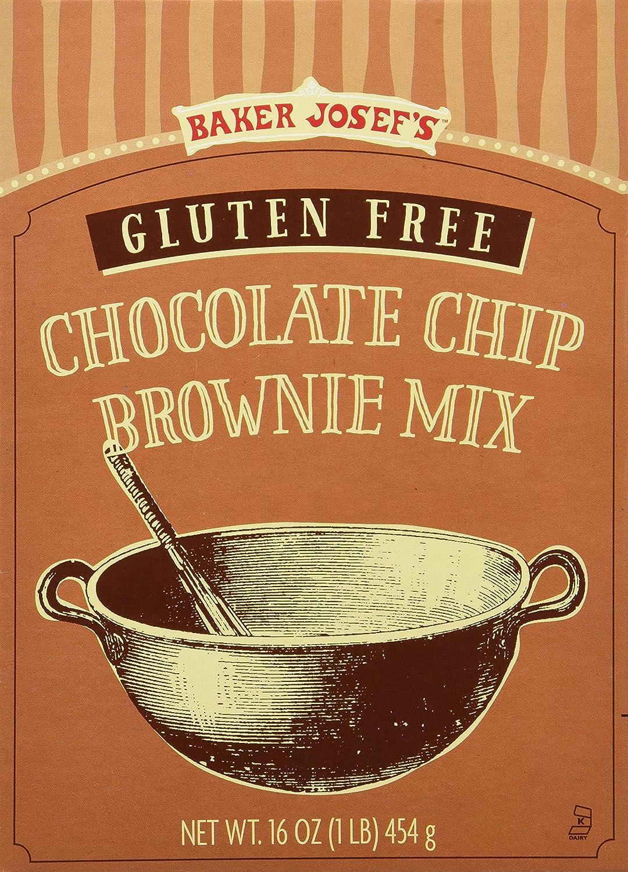 Amazon.com : Trader Joes Gluten Free Chocolate Chip Brownie Mix ...