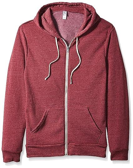 1404cee4a Alternative Mens Rocky Hoodie Hoody - Purple -: Amazon.co.uk: Clothing