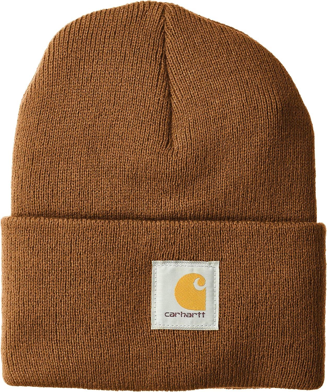 Carhartt Men's Teller Hat, Black, One Size at  Men's Clothing store