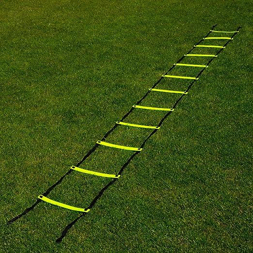 FORZA Escalera de Velocidad para Entrenamientos de Fútbol (3m o 6m) (6m): Amazon.es: Deportes y aire libre