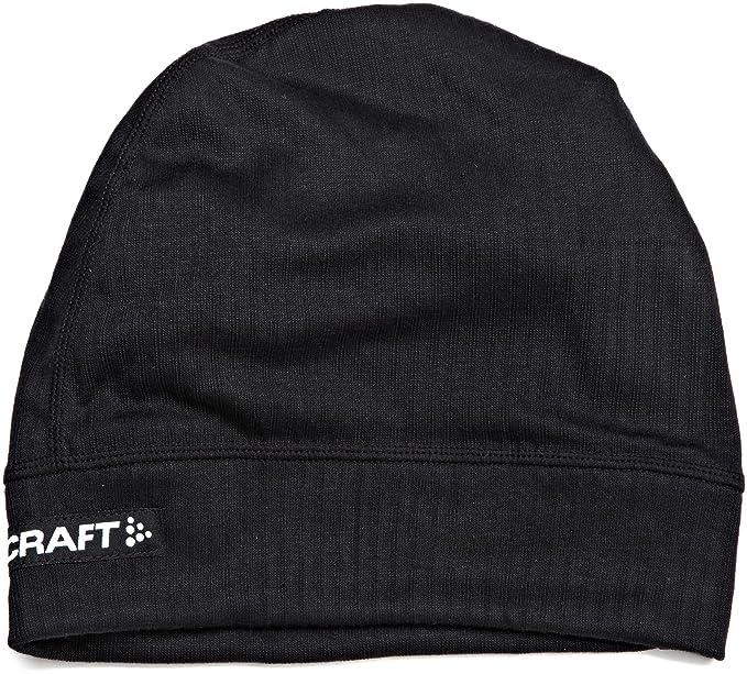 b88e04c9 Craft Sportswear Men's Active Skull Bike Cycling Helmet Beanie Hat,  Black/Silver, Large