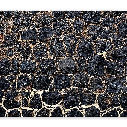 murando - Fototapete 400x280 cm - Vlies Tapete - Moderne Wanddeko - Design Tapete - Wandtapete - Wand Dekoration - Steine Ste