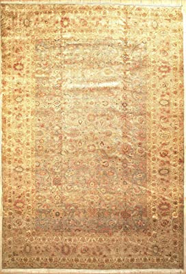 """12' 0"""" X 17' 5""""Agra Design New Area Rug with Natural Wool 14872"""