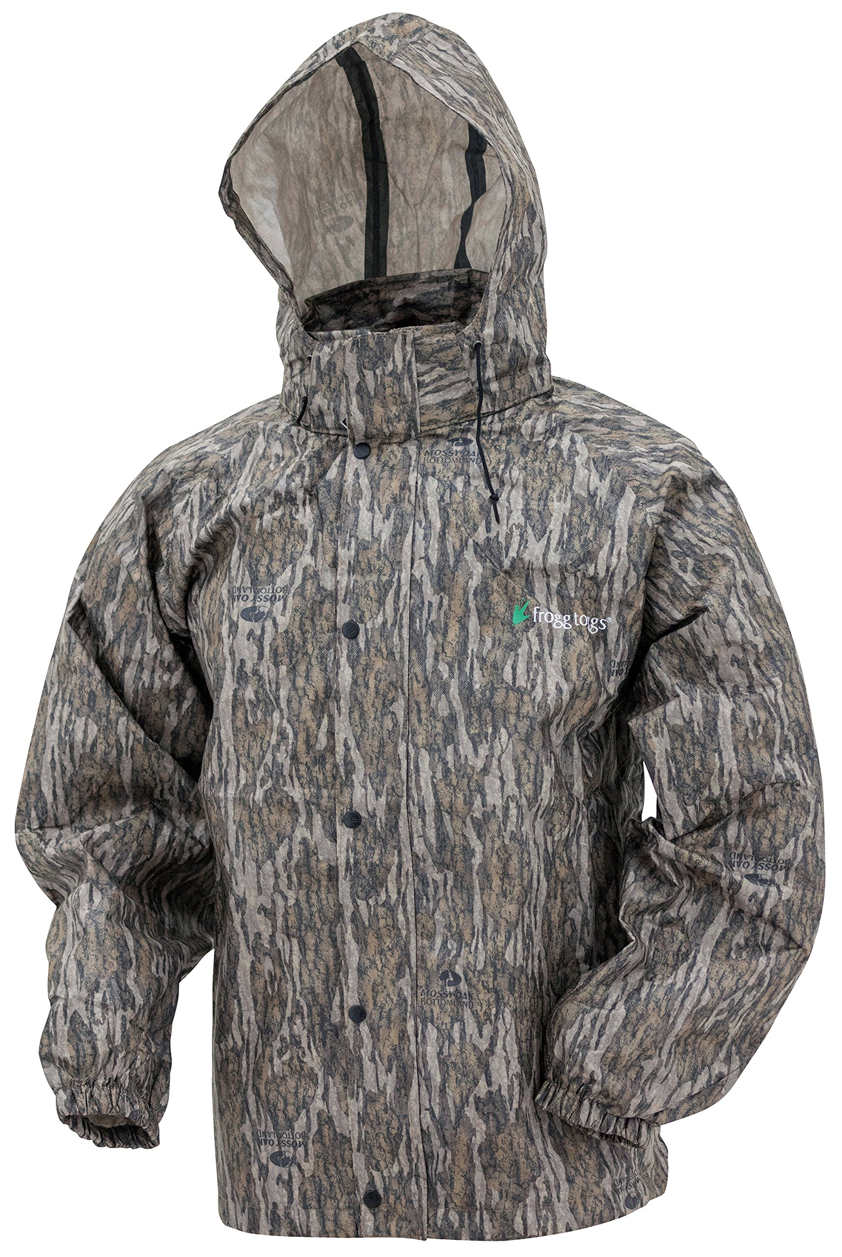 Frogg Toggs All Sport Rain Suit, Mossy Oak Bottomland, Size Medium by Frogg Toggs