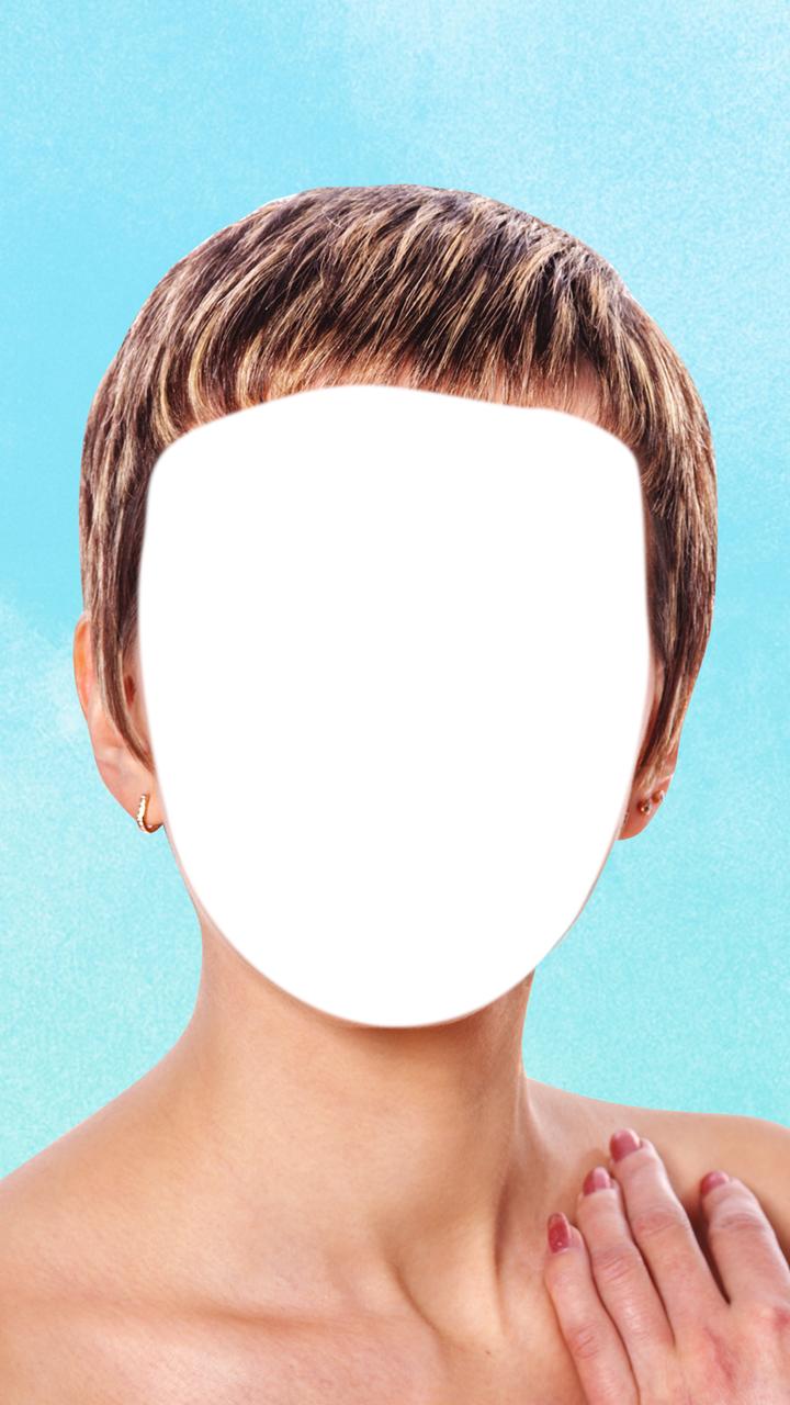Short Hairstyle Photo Editor