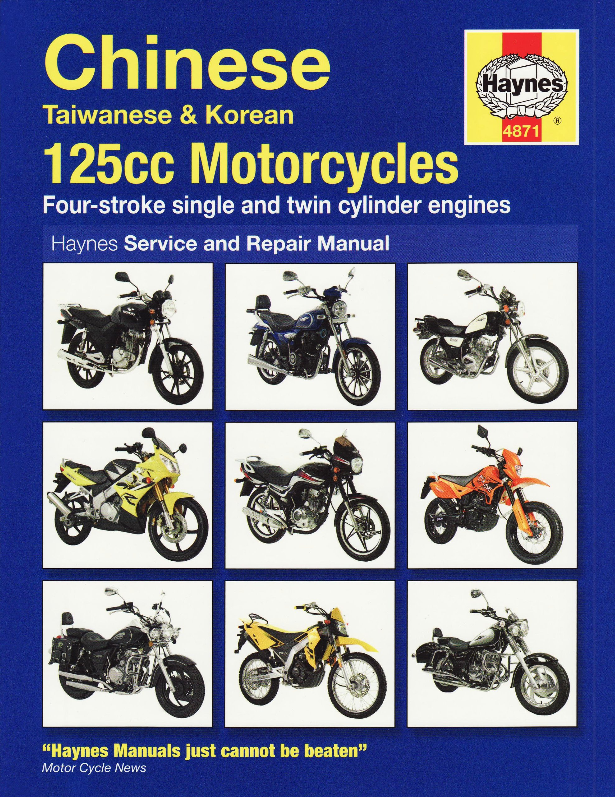Chinese 125 Motorcycles Service and Repair Manual (Haynes Motorcycle Manuals):  Matthew Coombes: 9781844258710: Amazon.com: Books