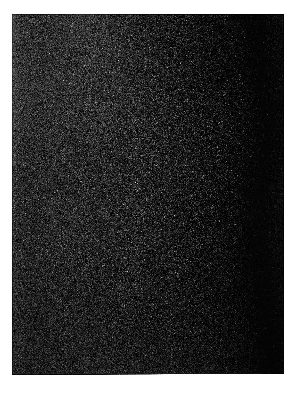 Exacompta  RockS 210018E Lote de 100 Subcarpetas para  A4 210 g//m/² 24 x 32 cm Negro
