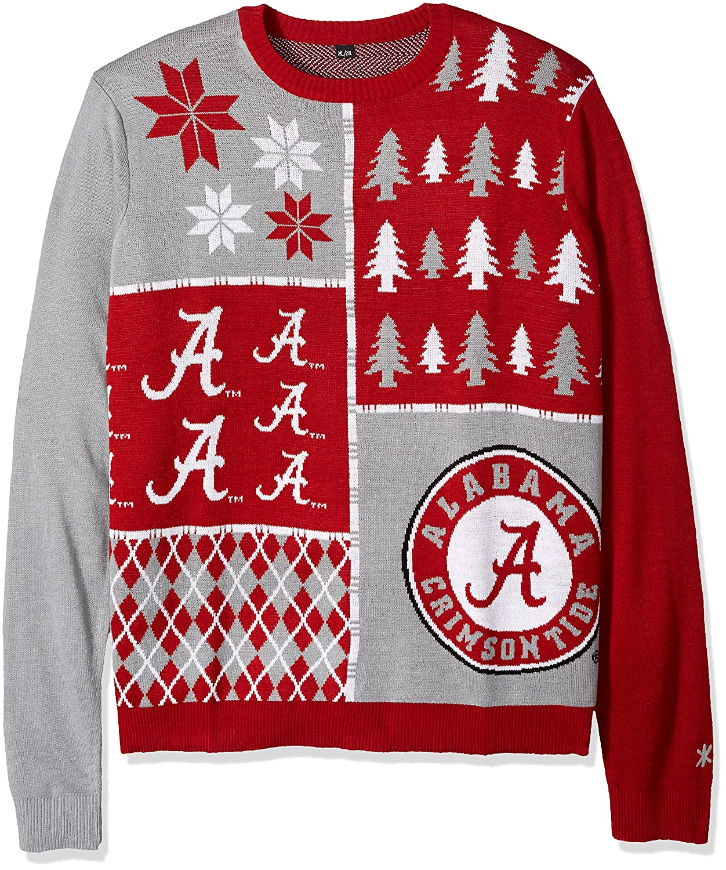 Amazon.com : FOCO Klew NCAA Busy Block Sweater : Sports & Outdoors