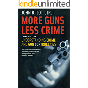 More Guns Less Crime: Understanding Crime and Gun Control Laws