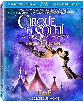 : Cirque Du Soleil - Worlds Away (Three-Disc Combo: Blu ...
