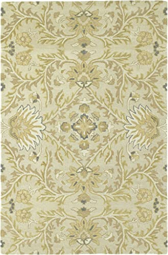 Kaleen Amaranta Collection Hand-Tufted Area Rug, 9 x 12 , Ivory