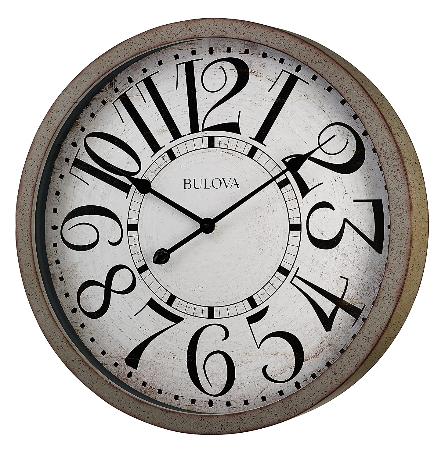 Amazoncom Bulova Westwood Wall Clock Home Kitchen