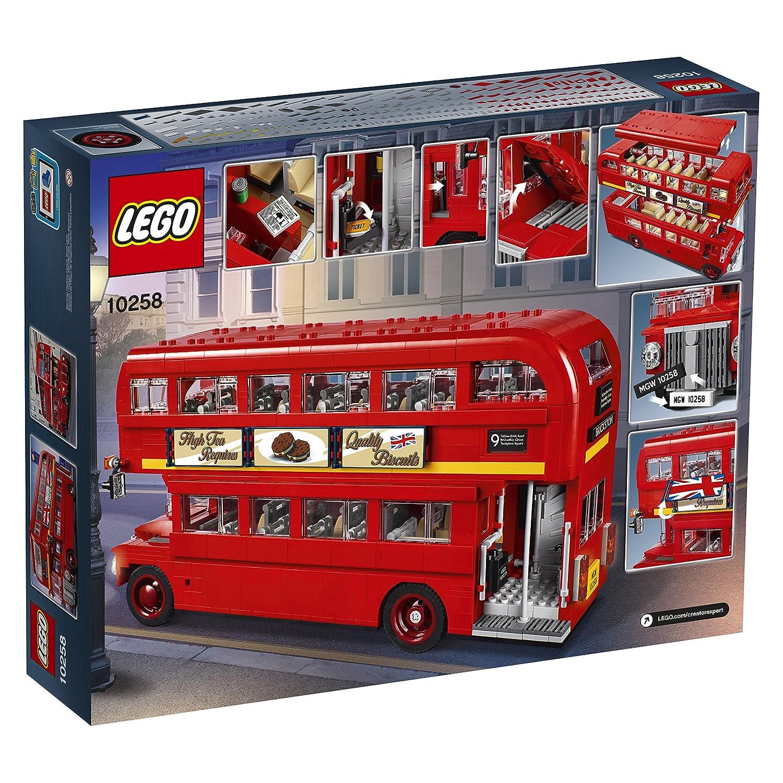 LEGO Juguete de autobús Londres - 10258 - Kit de edificio (1686 Piezas): Amazon.es: Juguetes y juegos