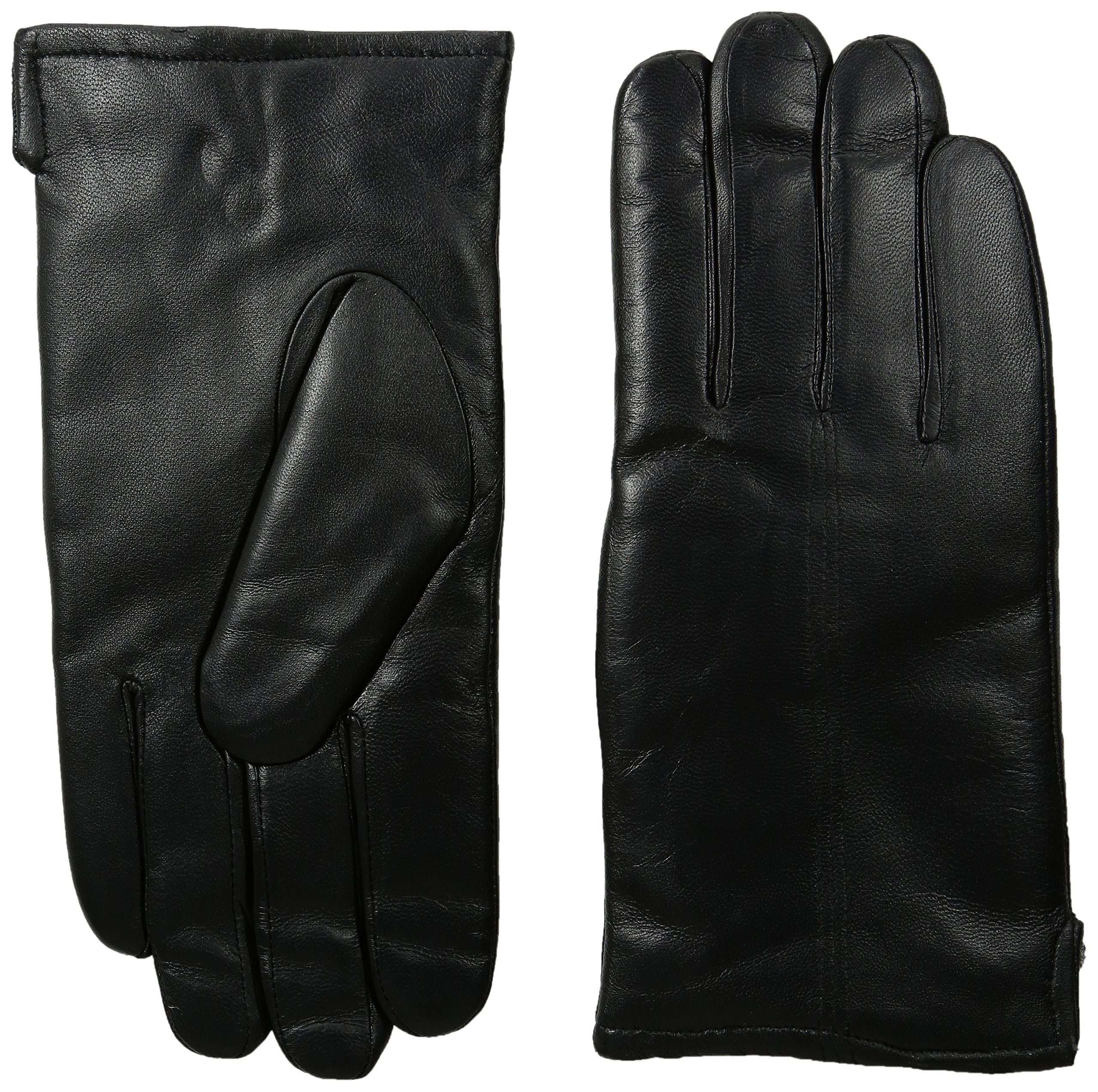 GII Men's Fine Leather Gloves with Microplie Lining, Black, X-Large