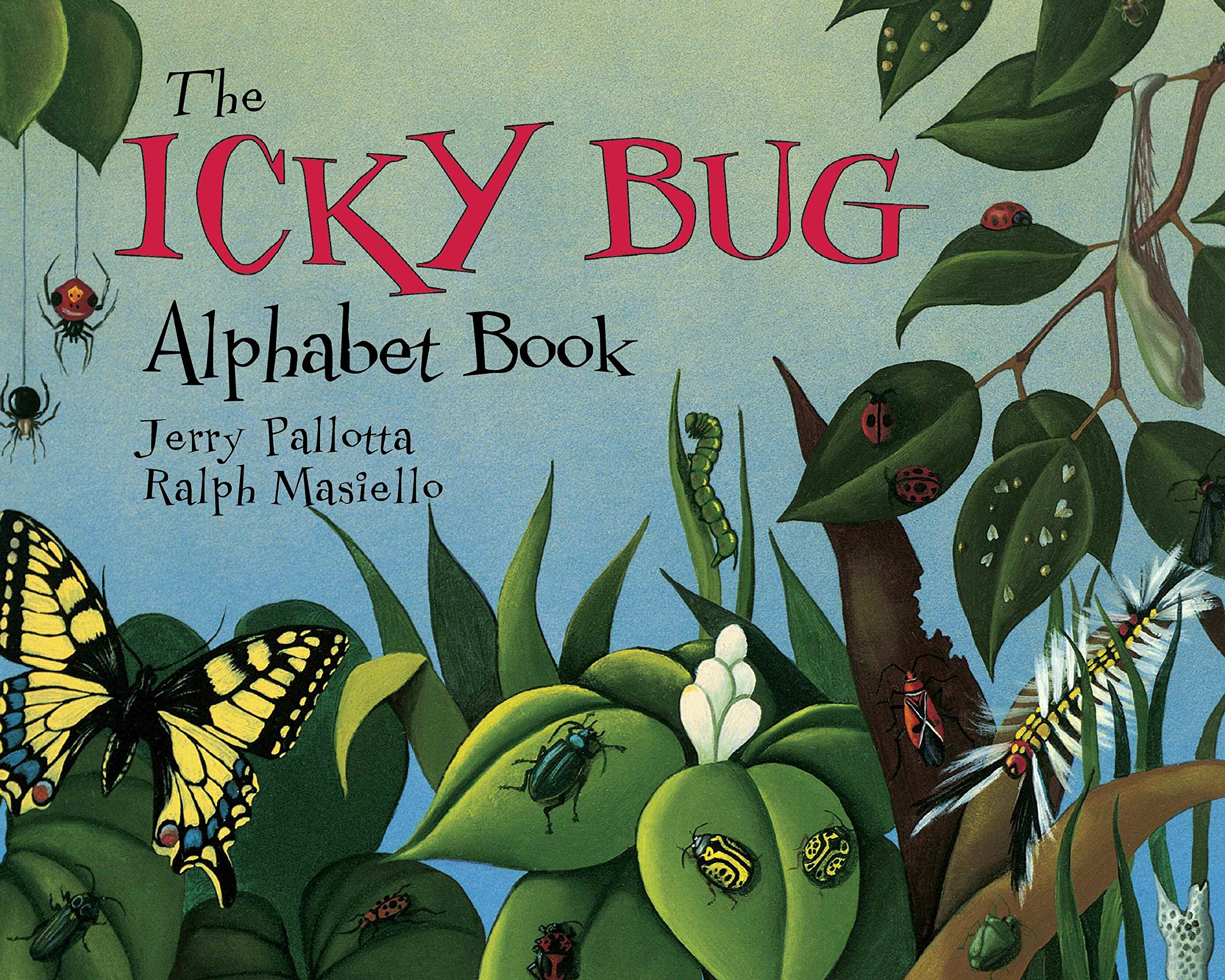 The Icky Bug Alphabet Book (Jerry Pallotta\'s Alphabet Books): Jerry ...