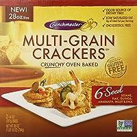 Crunch Master Multi Grain 6 Seed Cracker, 28 Ounce