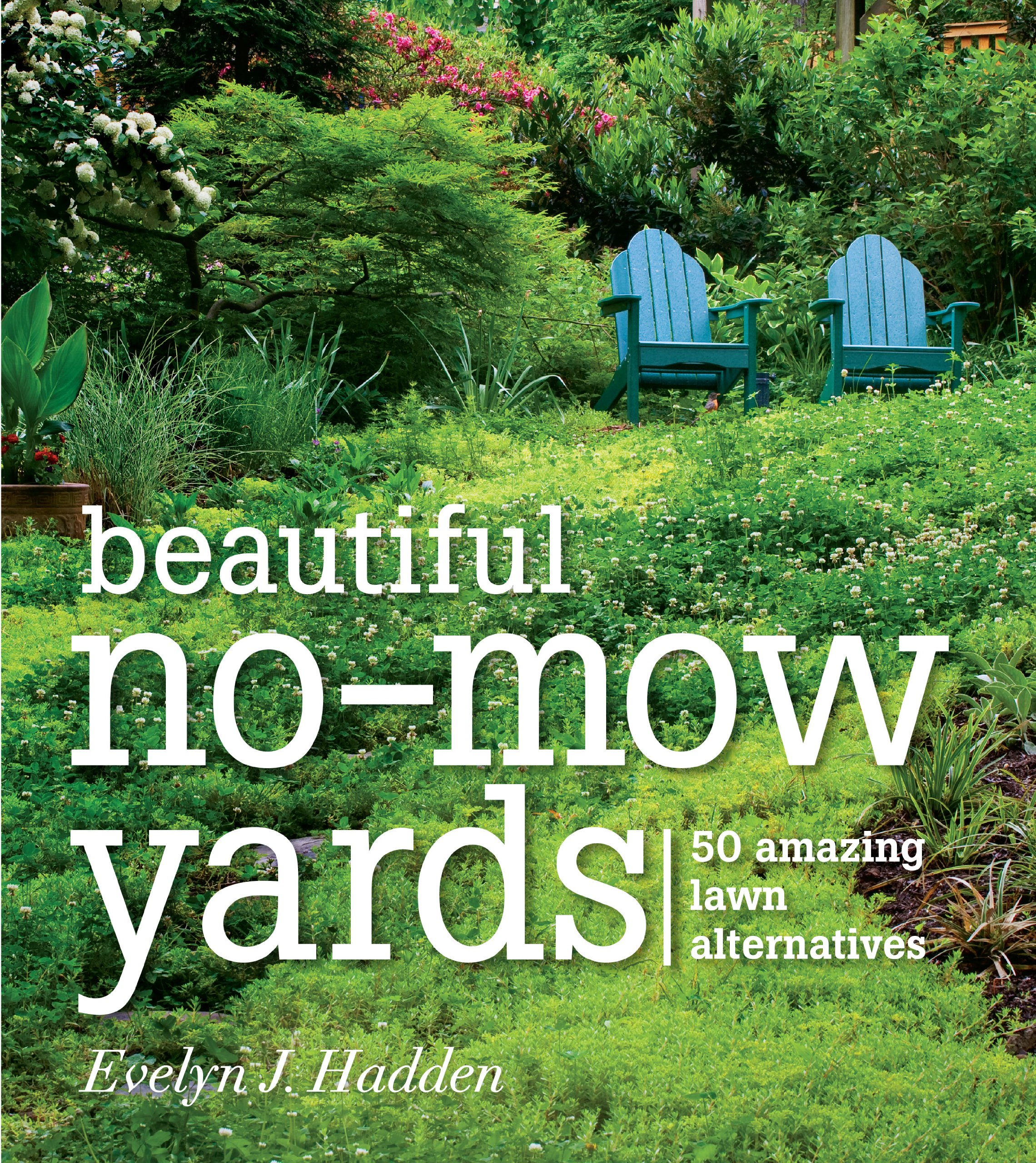Beautiful No Mow Yards: 50 Amazing Lawn Alternatives: Evelyn J. Hadden:  9781604692389: Amazon.com: Books