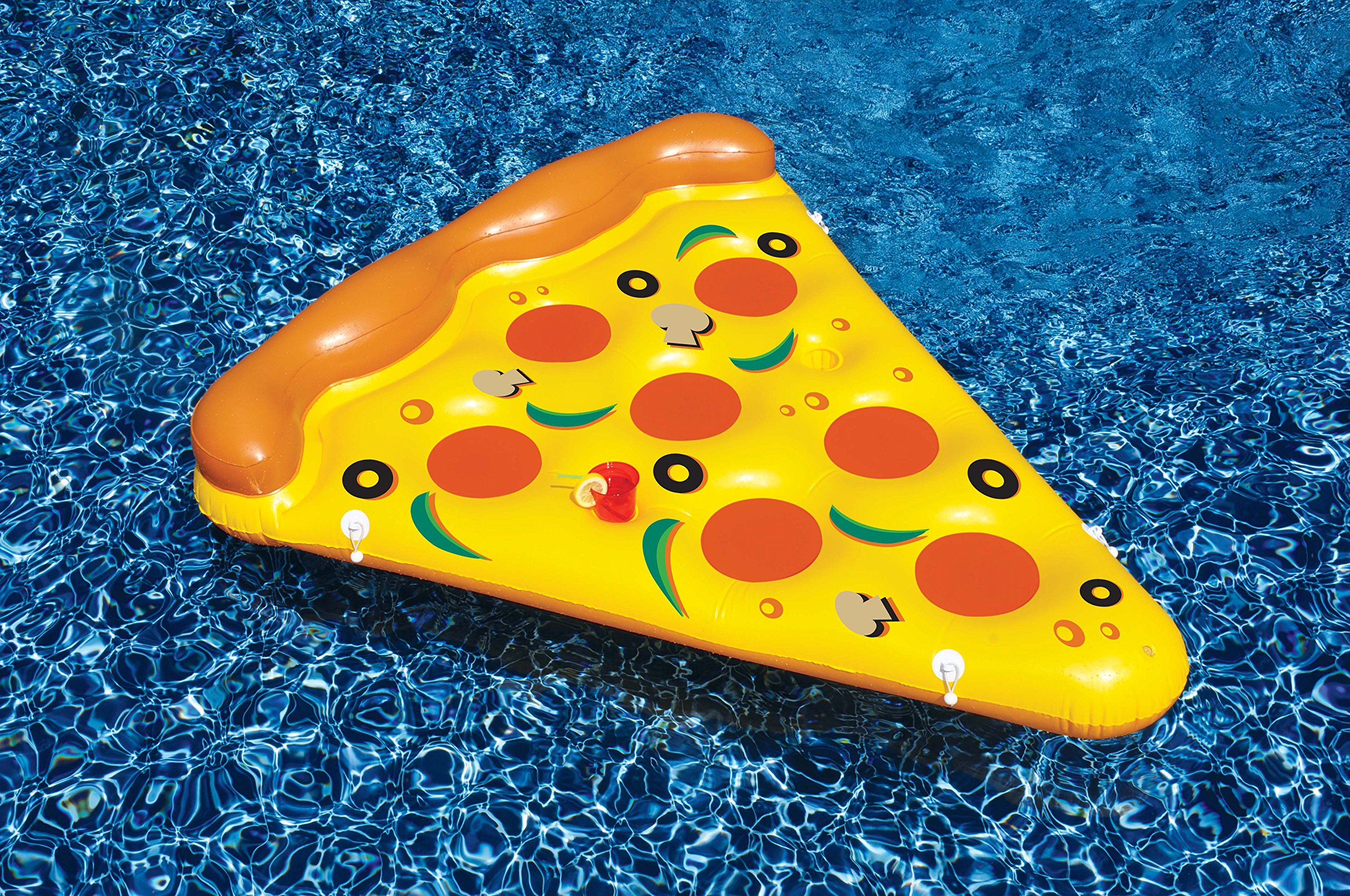 Swimline Inflatable Pizza Slice Pool Float by Swimline (Image #1)