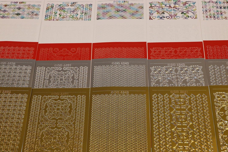 23/x 11/x 10/cm CPD Value Peel off Stickers Bumper Peel off confini Assortiti Carta