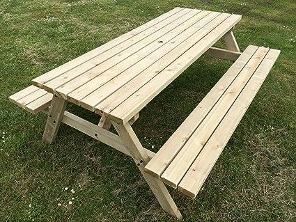 MC TIMBER PRODUCTS LTD:Mesa de acampada de madera natural resistente ...