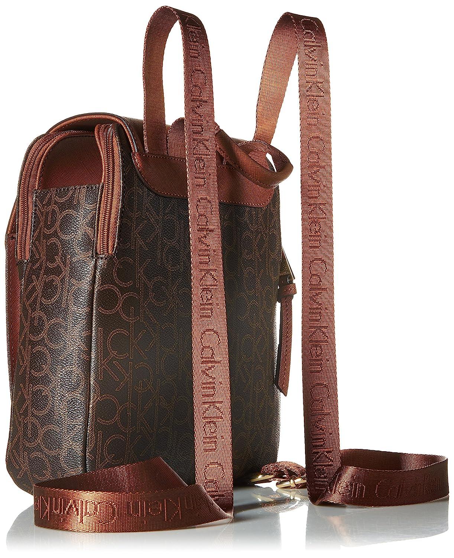 Amazon.com: Calvin Klein Hudson Monogram Mochila, talla ...