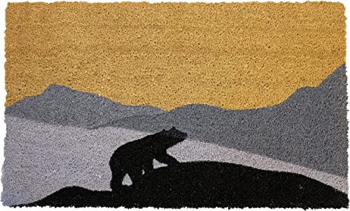 LL Home Coir Bear, Moving UP Door Mat, 30 X18
