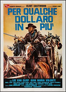 For A Few Dollars More Spanish Poster Clint Eastwood