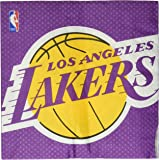 Amscan 513627 Los Angeles Lakers NBA Collection Luncheon Napkins, 16 pcs