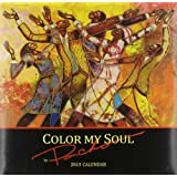 Shades of Color 12 by 12 Inches 2015 Color My Soul African American Calendar (15PB)