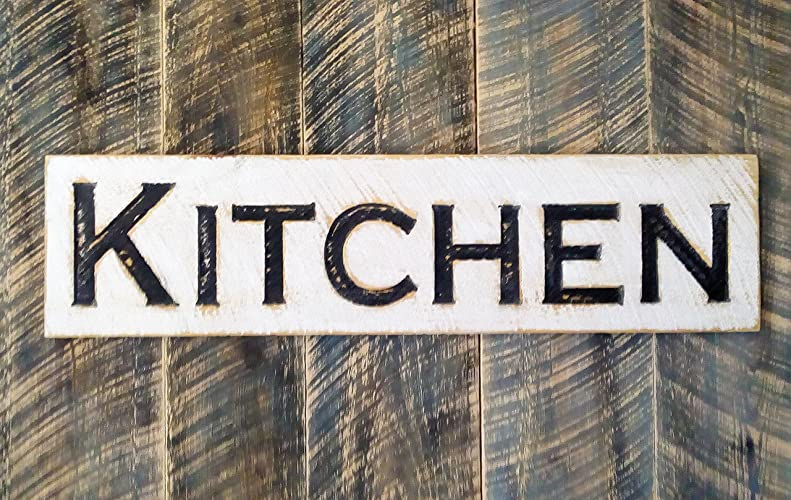Farmhouse Style Kitchen Wood Sign