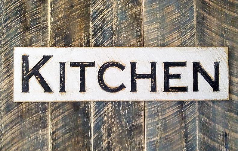 Farmhouse Style Kitchen Wood Sign