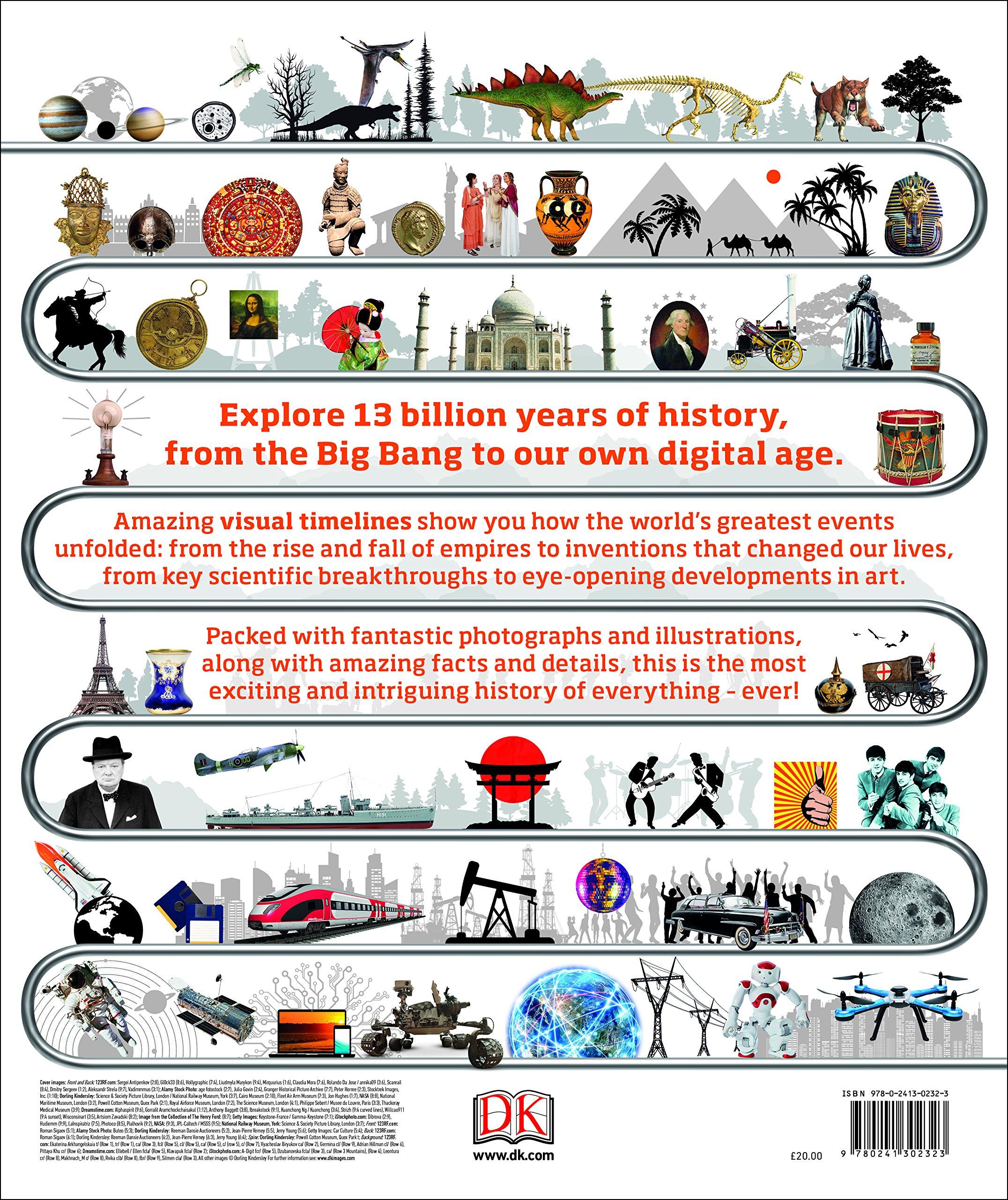 timelines of everything amazon co uk dk smithsonian institution