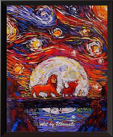 Amazonde Uhomate Der König Der Löwen Simba Lion King Poster