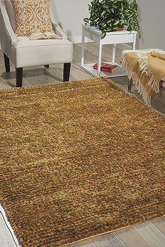 Nourison Fantasia Terraco Rectangle Area Rug, 8-Feet by 11-Feet 8 x 11
