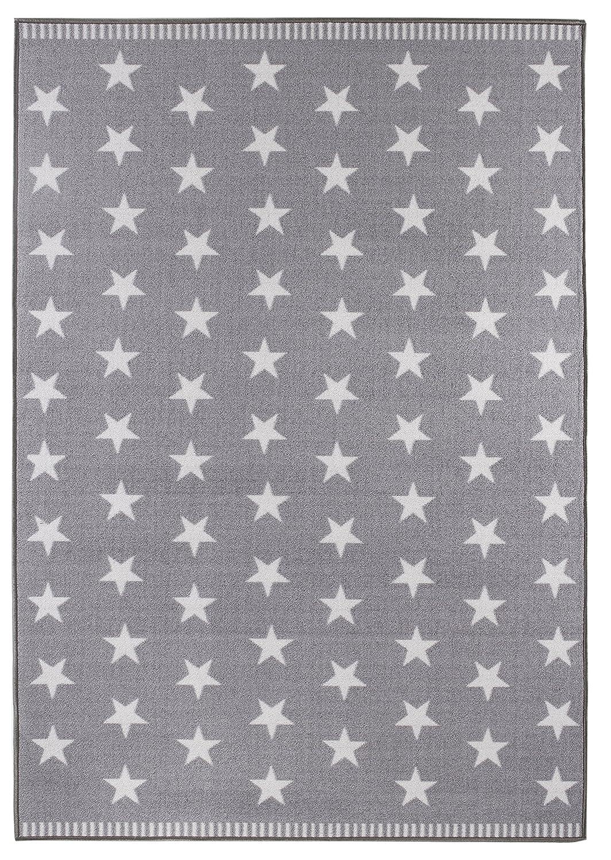 Teppich hellgrau  misento 282651 Teppich, 100% Polyamid, hellgrau, 150 x 80 x 0,6 cm ...