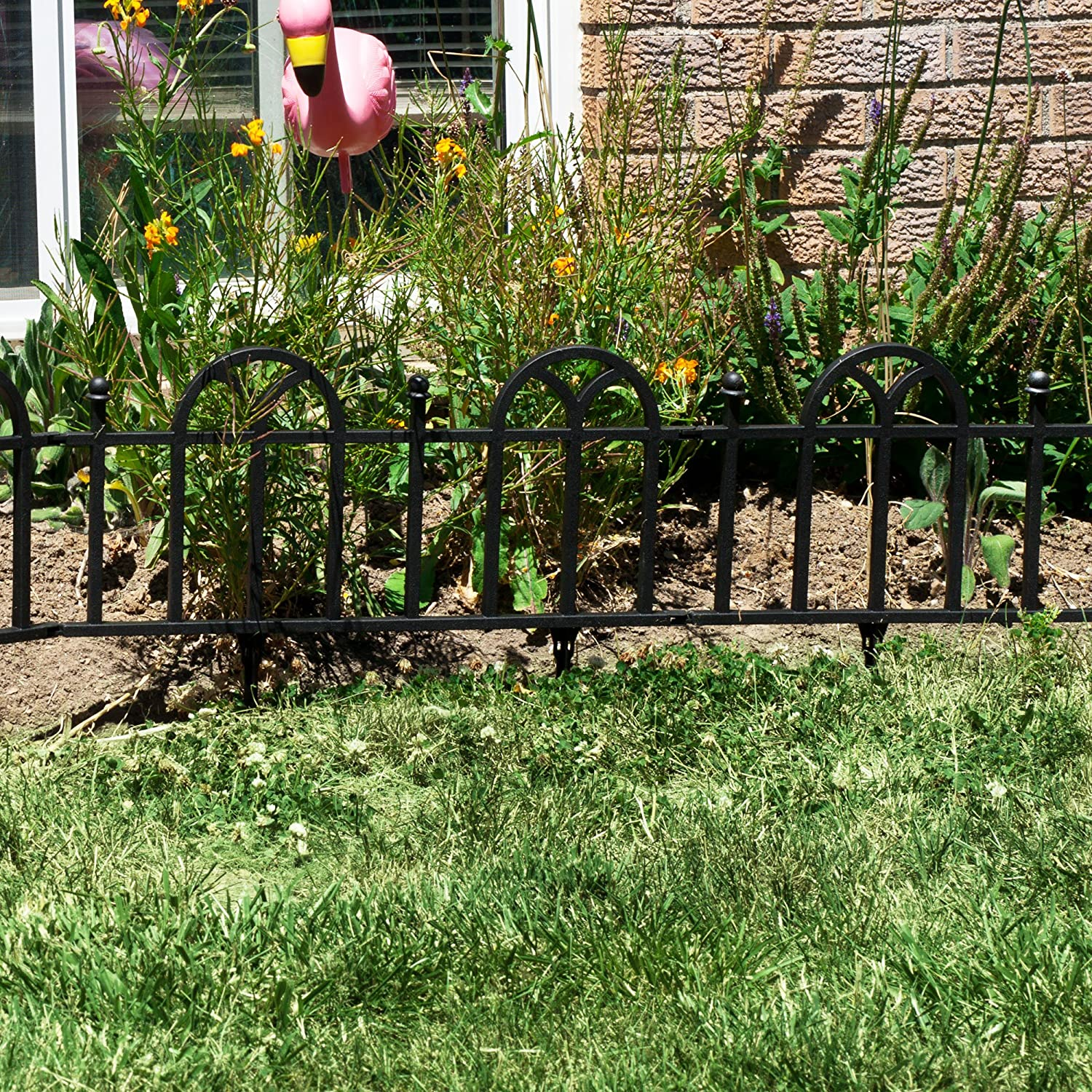 Wonderful Victorian Garden Border Fencing Set By Pure Garden   Outdoor Decorative  Fences   Amazon.com