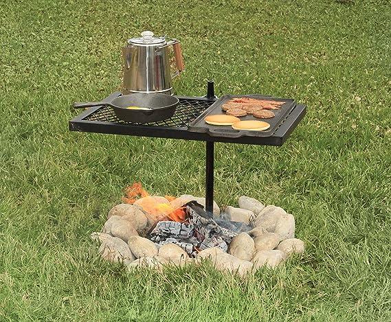 Texsport Heavy Duty Swivel Grill Over Open Fire