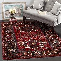 Overstock.com deals on Safavieh Vintage Hamadan Traditional Red/ Multi Rug 8x10-ft
