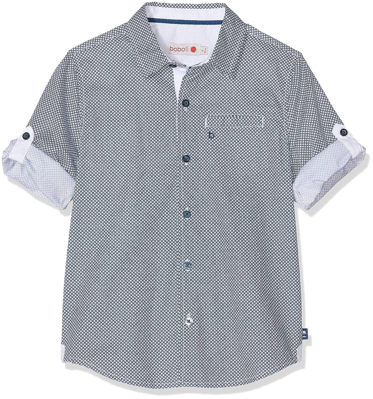 Camicia Bambino boboli Poplin Shirt Stretch for Boy