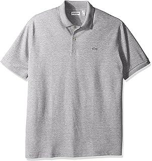 61fa082d Lacoste Men's Father's Day Linen/Cotton Birds Eye Jaspe Pique Polo, ...