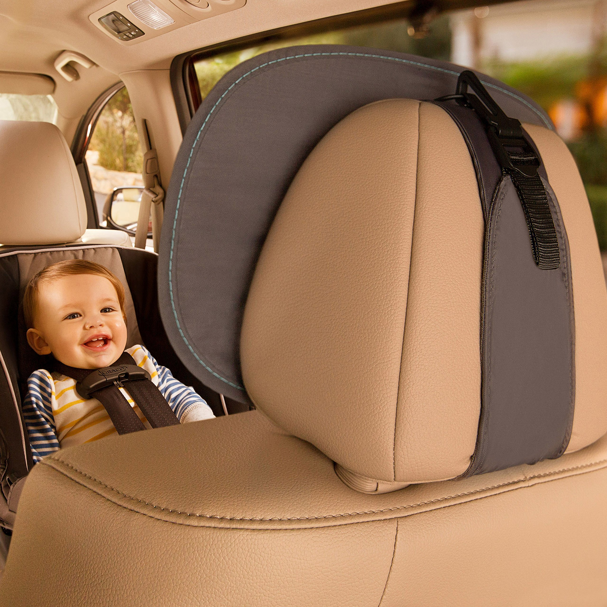 Brica Vivid Reflection Baby In-Sight Car Mirror, Crash Tested and Shatter Resistant by Brica (Image #5)