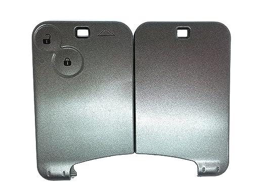 KIS® Repuesto envoltura llave tarjeta código de 2 botones ...