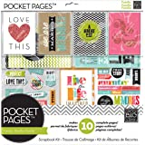 Me and My BIG Ideas SRK-701 Pocket Pages Scrapbook Page Kit, 12 by 12-Inch, Family Time