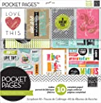 Me & My Big Ideas SRK-701 Pocket Pages Scrapbook Page Kit, 12 by 12-Inch, Family Time