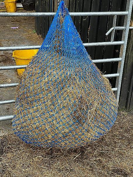 Little Piggy Haynet Greeder Feeder   Hay haylage Net small holes