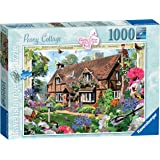 Ravensburger Peony Cottage Country Cottage,Adult Puzzles
