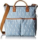 Skip Hop Duo Special Edition Diaper Bag, Blueprint Stripe, Blue/White