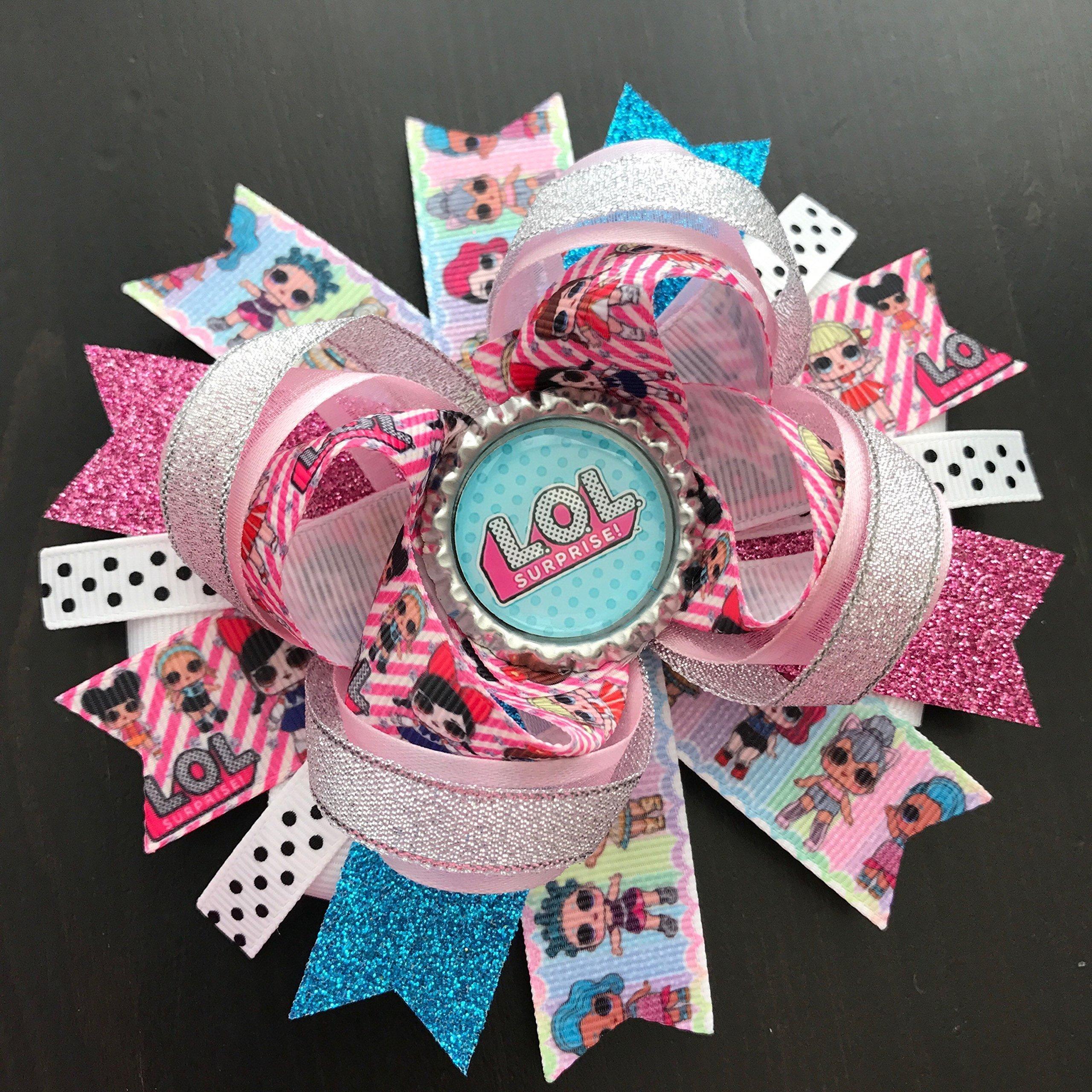 Lol Surprise Dolls Hair Bow, LOL Surprise Dolls Birthday Hair Bow Accessories, LOL Surprise Dolls